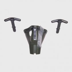 Oxygen mask incl. 2 EA mask Bayonets
